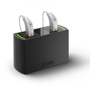 Oticon Opn hearing aids charging dock