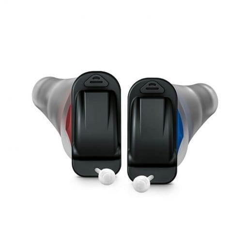 Very small, inner ear Signia silk hearing aids