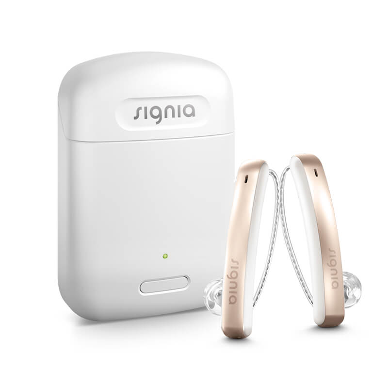 Styletto connect hearing aid charger