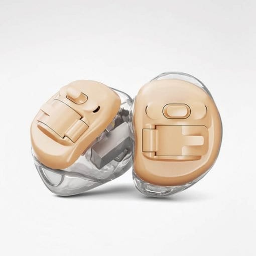Invisible inner ear Phonak Virto hearing aids