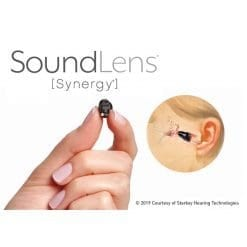 Starkey SoundLens inner ear hearing aids