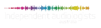 Independent audiologists logo on transparent background