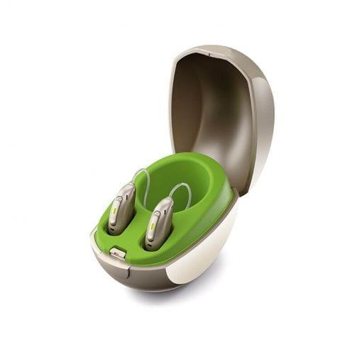 Phonak hearing aids in case | A Better Ear